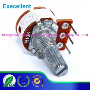 Metal Shaft Potentiometer with 16mm Size and 0.1W Rated Power