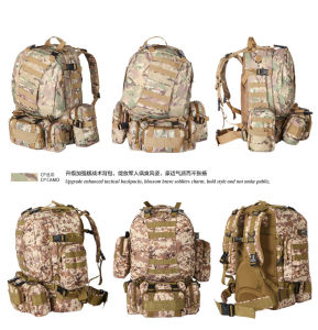 Classical Design! Urban Popular Military Tactical Water-Proof European Multicam Tactical Hiking Shoulder Camping Backpack pictures & photos