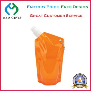 Personlized Brand Printingportable Plastic Flat Foldable Water Bottle pictures & photos