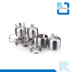 Stainless Steel Spice Rack Set / Salt and Pepper Shaker pictures & photos