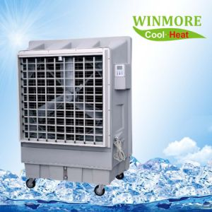 Hot New Type Industrial Portable Evaporative Air Cooler, Mobile Air Cooler with Remote Control pictures & photos