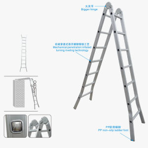 Aluminum Joint Folding Step Ladders B pictures & photos