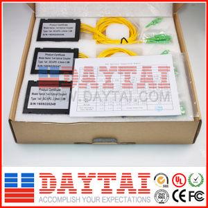 1310nm/1550nm Fiber Optical 1X4 Coupler Sc/APC with ABS Box pictures & photos