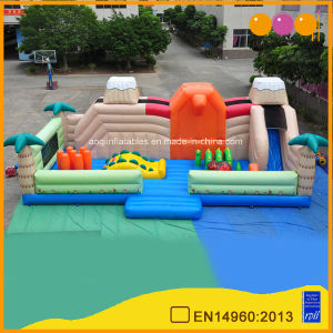 Dinosaur Inflatable Toy Game Cheap Inflatable Funcity Inflatable Fun Island for Child (AQ127) pictures & photos