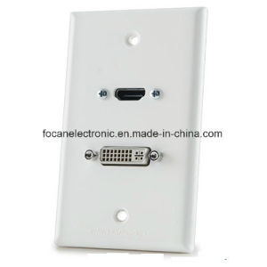 HDMI VGA Wall Plate for Audio/Video pictures & photos