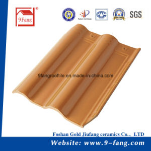 Clay Roofing Tiles Villa Interlocking Tiles Made in China pictures & photos