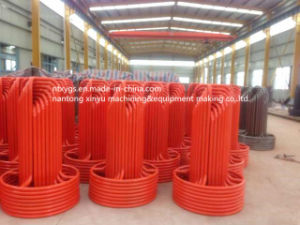 Factory Outlet Red Round Base Steel Wire Carrier pictures & photos