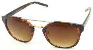 F17876 Good Quality Unisex Style Plastic Frame UV400 Lens Sunglasses pictures & photos