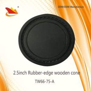 Perfect Design of Small Size 2.5inch Speaker Parts-Wooden Cone pictures & photos