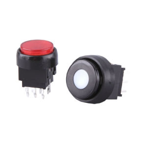 16mm Diameter Pushbutton Switch with LED pictures & photos