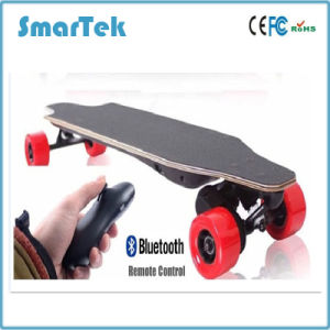 Smartek 4 Four Wheels Electric Longboard Skateboard Electric Mobility Scooter Electric Scooter Patinete Electrico with Remote Control 500W 18km/H S-019 Long pictures & photos