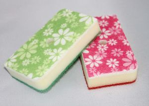 Print Flowers Sponge for Cleaning, Housework, Cleaning Sponge pictures & photos