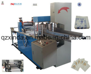 Flexo Printed Napkin Serviette Folding Machine pictures & photos