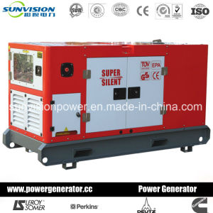 Diesel Genset with Mitsubishi Engine, Generator with Enclosure 20kVA pictures & photos