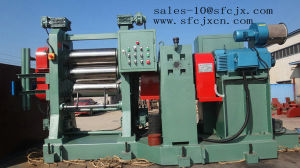 Rubber Calender, 3 Roller Rubber Calendering Machine, Roll Press Machine pictures & photos