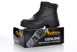 Hot Resistant Work Boots with Steel Toe Cap pictures & photos