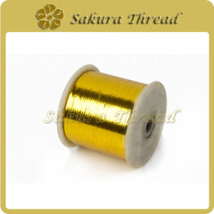 Metallic Yarn Selects Metal Membrane Imported From Japan as Raw Material pictures & photos