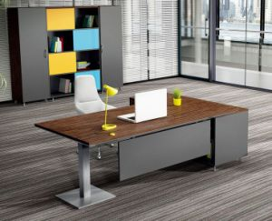 2 Doors Swing Doors Cabinet Attached Metal Office Table (HX-NCD007) pictures & photos