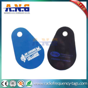 Durable Passive Glassfiber Custom Printed RFID Cards with Hole pictures & photos