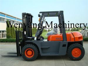 5ton with Isuzu Engine 6bg1 Diesel Forklift Truck pictures & photos