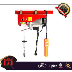 Electric Mini Hoist, PA Type Civil Use Hoist, 220V Single Phase pictures & photos