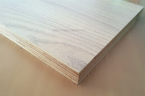 18mm Melamine White Oak Faced Plywood pictures & photos