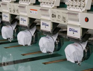 Richpeace Dynamic Cap/Tubular Computerized Embroidery Machine