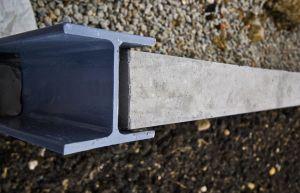 China Sleeper Retaining Wall Steel Posts Galvanised C H