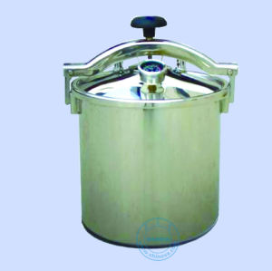 18L Portable Pressure Steam Sterilizer/Autoclave Electric or LPG Heated (18L) (MS-P18) pictures & photos
