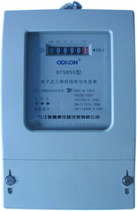 Three-Phase Electronic Watt-Hour Meter (DTS855)