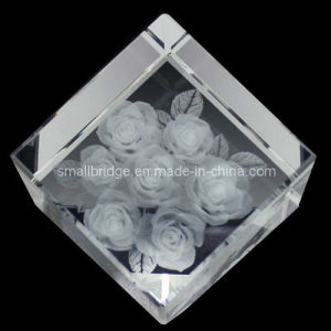 Crystal 3D Rose