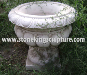 Carved Stone Vases & Marble Vases, Marble Flowerpots pictures & photos