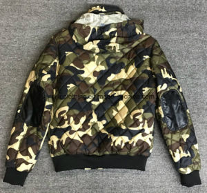 Camouflage Hot Seal Outdoor Jacket with Hiden Hoody pictures & photos