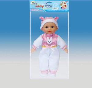 Baby Music Doll, Plastic Doll Toy (0912C-4)