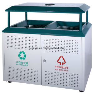 Classified Outdoor Garbage Bin (DL100) pictures & photos
