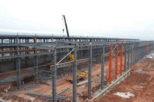 Prefeb Steel Structure Building Warehouse pictures & photos