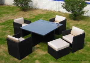 Garden Furniture/ Rattan Furniture/Patio Furniture Chairs and Table (7020) pictures & photos