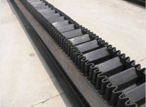 Durable Corrugated Sidewall Conveyor Belt SGS Certificate pictures & photos