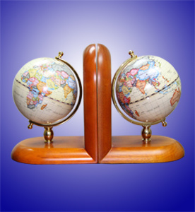 Book Shelf Globe