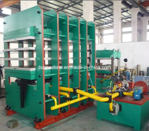 Hot Plate Hydraulic Vulcanizer pictures & photos