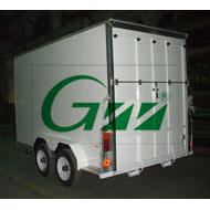 Cargo Trailer with Rear Ramp Door (GW-BLV12) pictures & photos