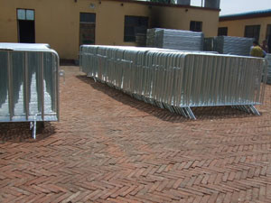 Various Colors Available Crowd Contral Barrier
