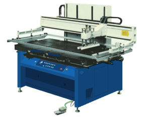 Glass Silkcreen Printing Machine for Silkcreen Painting Glass pictures & photos
