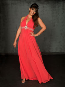 Evening Dress, Plus Size Dress (PL2009)