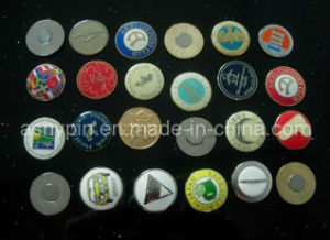 Custom Metal Magnetic Golf Ball Marker pictures & photos