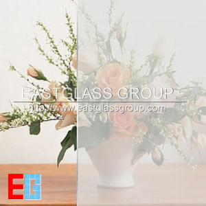 Frosted Glass/Acid Etched Glass/Textile Glass pictures & photos
