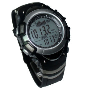 Wholesale Top Grade Waterproof Digital Fishing Barometer Watch pictures & photos