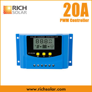20A Solar Regulator Controller USB Charge 12V 24V LCD Display PWM for Batteries pictures & photos