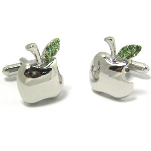 High Quality Fashion Metal Men′s Cufflinks (H0042) pictures & photos