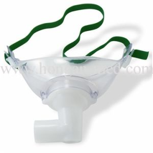 Disposable PVC Tracheostomy Mask with Ce and ISO pictures & photos